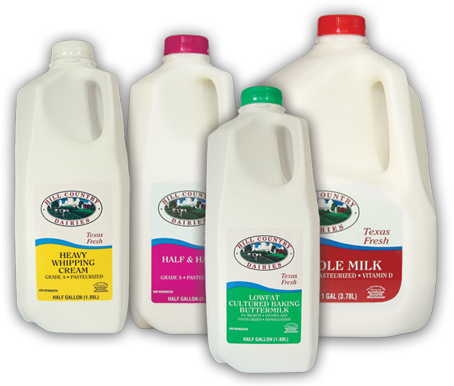 Hill Country Dairies Milk