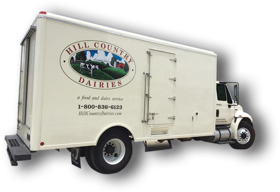 Hill Country Dairies Truck