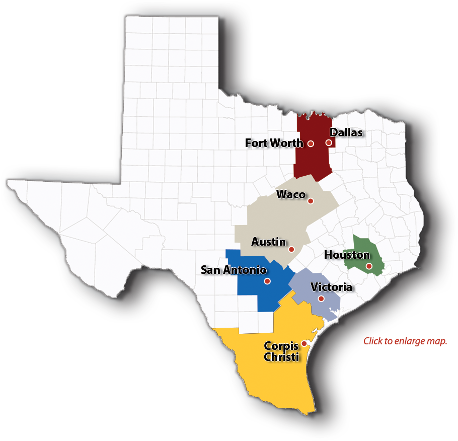Map Of Texas San Antonio.Locations Hill Country Dairies